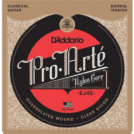 D'addario Ej45 Pro-Arte Normal Tension Nylon Classical Guitar Strings